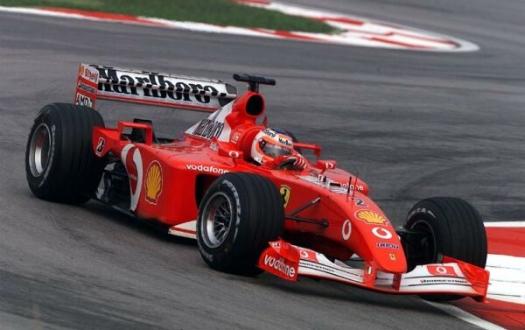 Michael Schumacher'ın Formula 1 aracı rekor fiyata satıldı!