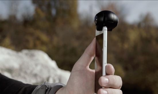 360 derece fotoğraf ve video çekin: Fishball