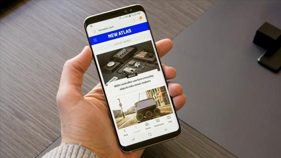 Çerçevesiz Galaxy A8 ortaya çıktı!