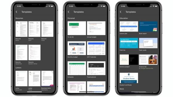 Google, iOS için ofis uygulamalarını güncelledi!