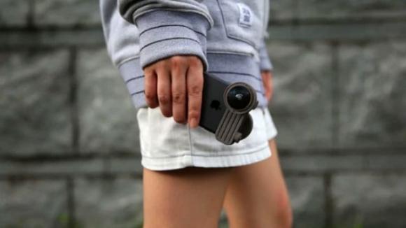 iPhone için Fusion Lens ile 360 derece çekim!