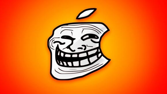 Taraftarlar Apple'ı trolledi!