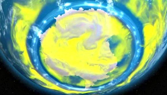 Ozon deliği küçülüyor!