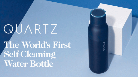Akıllı su matarası: QUARTZ