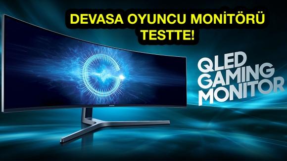 Samsung 49 inç QLED Oyuncu Monitör Deneyimi