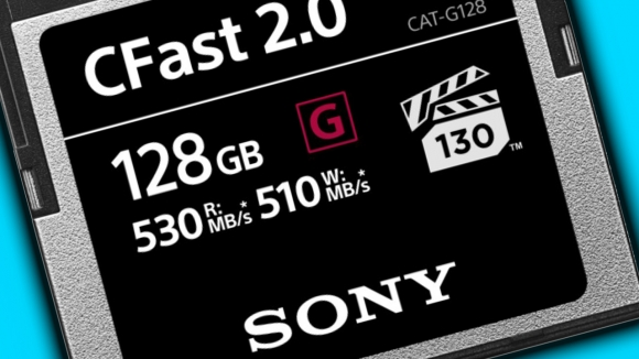 En hızlı CFast 2.0 bellek kartı Sony'den geldi!