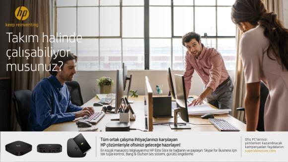 Şirket bilgisayarlarınızı HP ile değiştirin