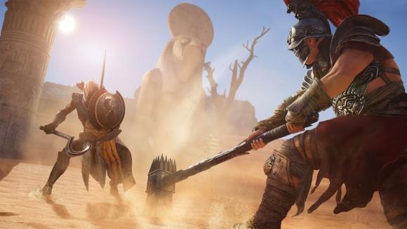 Ubisoft'tan komik AC: Origins hatası!