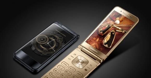 Samsung W2018 – Amiral gemisi kapaklı telefon!