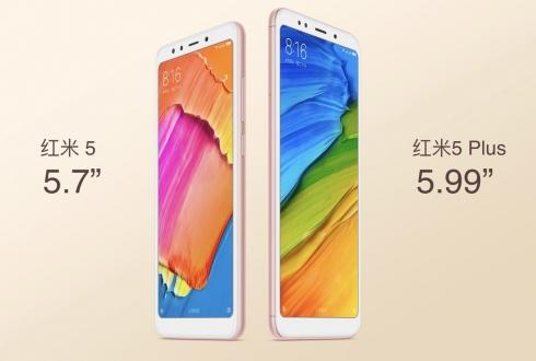 Xiaomi Redmi 5 ve Redmi 5 Plus tanıtıldı!