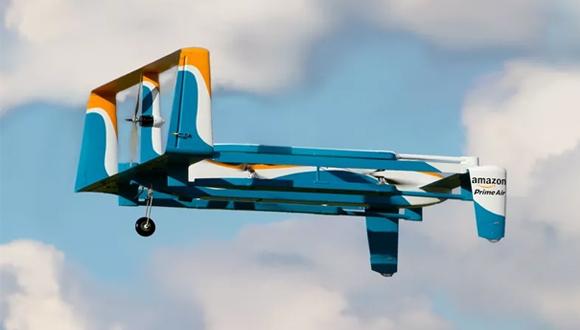 Amazon kendini imha edebilen drone geliştiriyor!