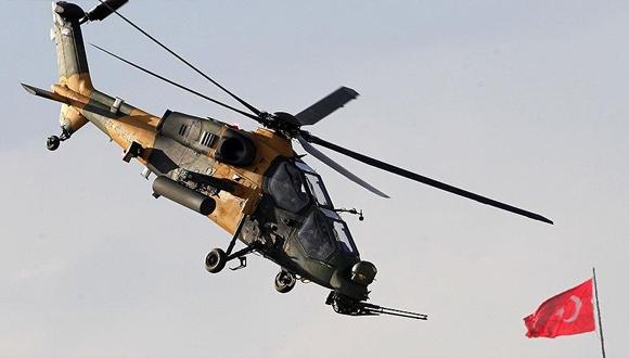 2017 yılının son ATAK helikopteri uçuşa geçti!