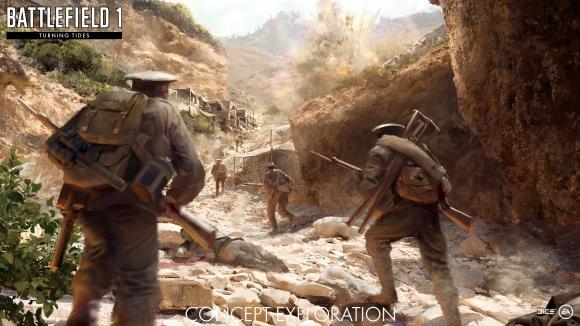 Battlefield 1 için Çanakkale Haritaları geldi!