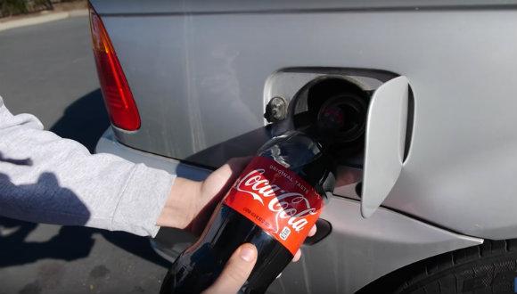 Benzin yerine depoda kola kullanırsanız ne olur?
