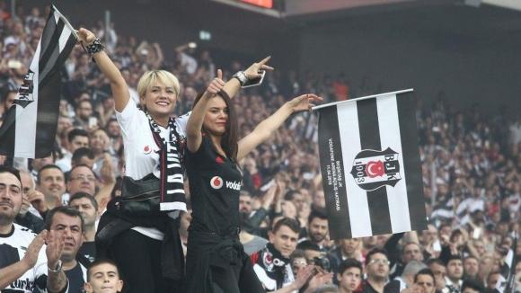 Beşiktaş taraftarı flörtleşmeyi seviyor!