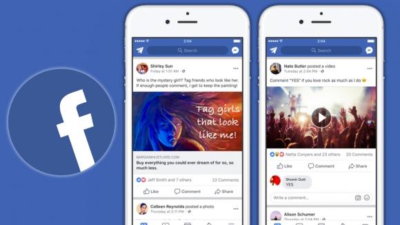 Facebook spam ve etkileşim yemlerine dur diyor!