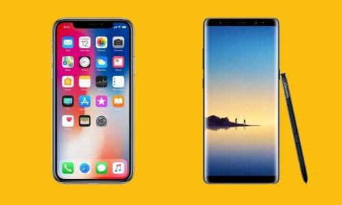 iPhone X ekranı Note 8'den daha mı iyi?