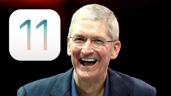 iOS 11'den garip güncelleme!