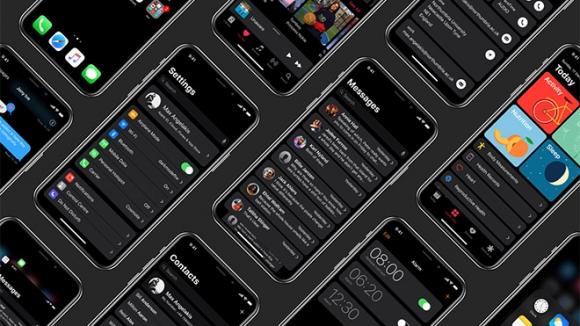 iPhone X'da Dark Mode olsa nasıl görünürdü?