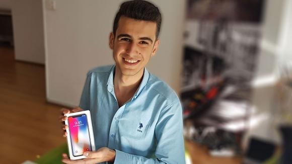 iPhone X kazananı ofisimizde! (Video)