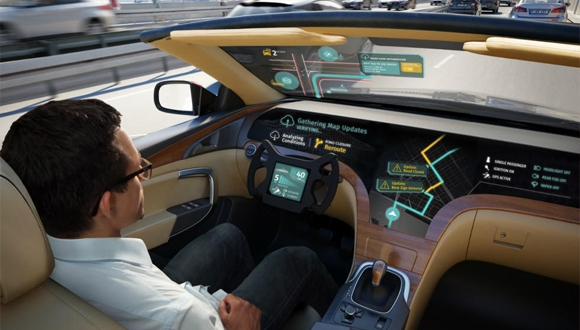 LG ve Here arasında sürücüsüz otomobil ortaklığı!
