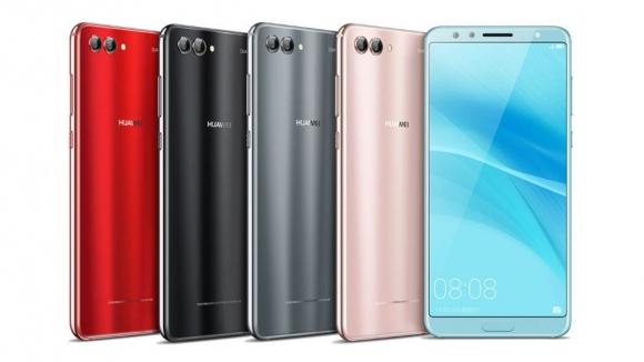 Huawei Nova 2s tanıtıldı: 6 GB RAM ve 4 kamera!