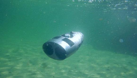 Özerk su altı robotu geliştirildi!
