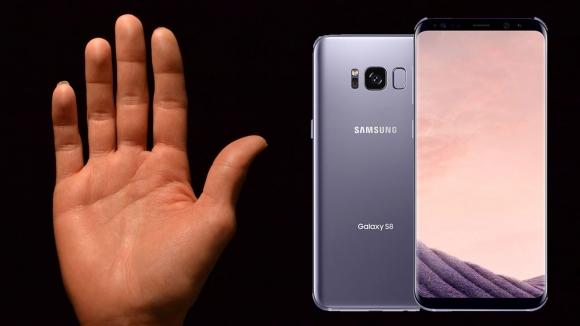 Samsung avuç içi tarama patentini aldı!