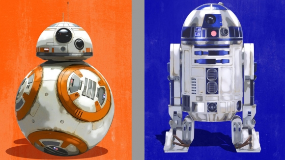 Muhteşem Star Wars Son Jedi posterleri!