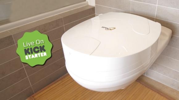 Alafranga tuvalet temizlik robotu: SPINX