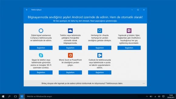 Windows 10 telefon numaranızı isteyecek