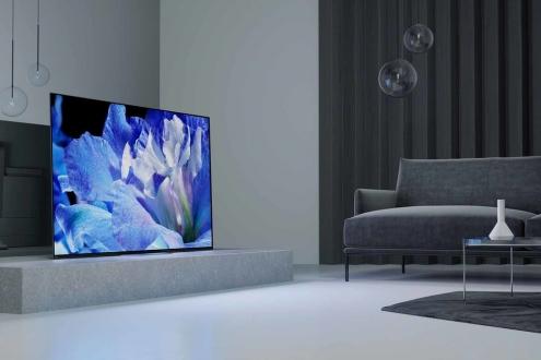 Sony A8F: Göz alıcı OLED TV duyuruldu!