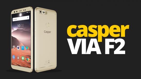 Casper VIA F2 inceleme – Dört kameralı telefon testte