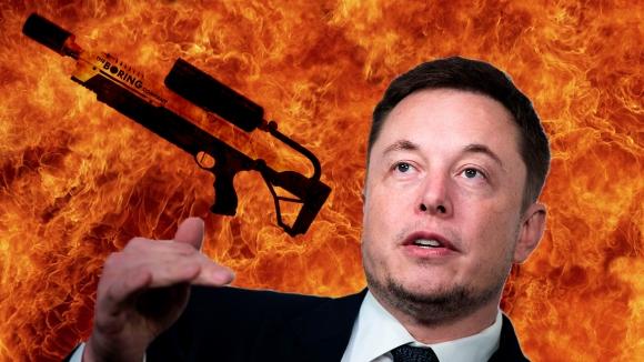 Elon Musk alev silahı peynir ekmek gibi sattı!