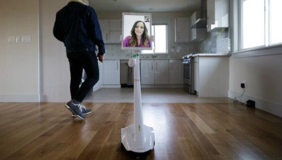 Emlakçı robot geliştirildi!