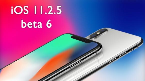 iOS 11.2.5 beta 6 yayınlandı!