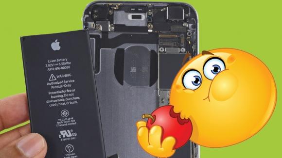 iPhone bataryası ağzında patladı!