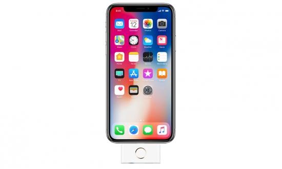 iPhone X için home butonu üretildi!