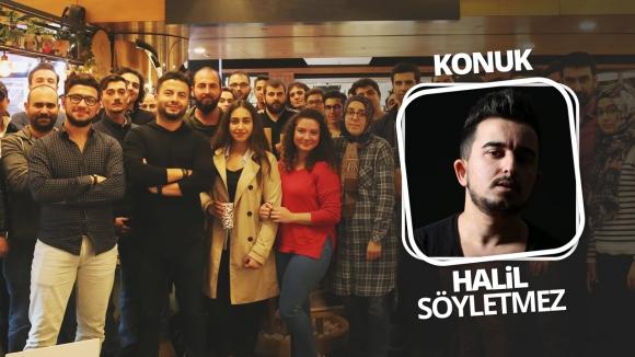 Halil Söyletmez'li okur buluşmamıza yerinizi ayırtın!