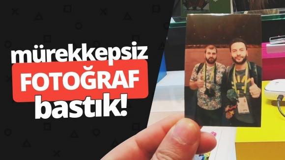 ZERO INK TEKNOLOJİSİ – Mürekkepsiz fotoğraf bastık!
