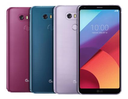 LG G6 ve Q6 yeni renkleriyle kullanıcıların karşısında!