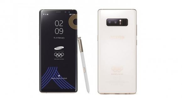 2018 Kış Olimpiyatlarına özel Galaxy Note 8!