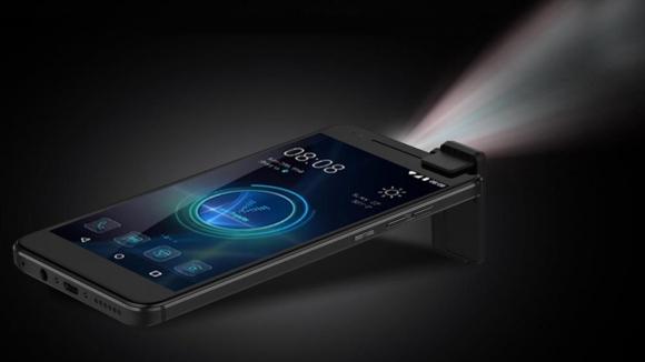Projektörlü akıllı telefon Moviphone!