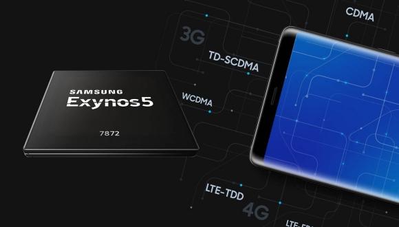 Samsung Exynos 7872 işlemcisini tanıttı!