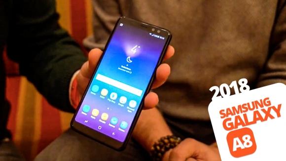 Samsung Galaxy A8 2018 ön inceleme