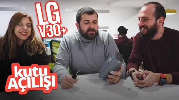 LG V30 Plus kutu açılışı