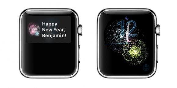 Apple Watch'tan gizemli yılbaşı animasyonu