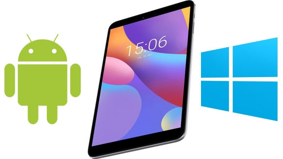 Windows ve Android tek tablette!