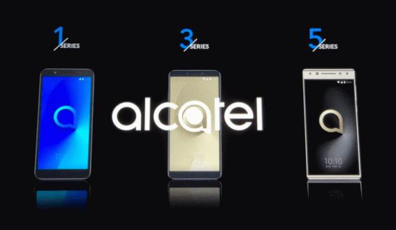 Alcatel 5, 3, 3X, 3V ve 1X tanıtıldı!