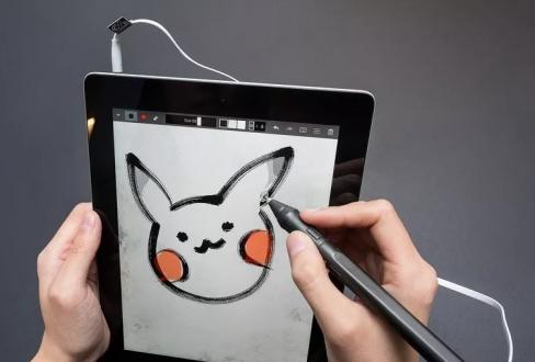 Kulaklık jakına bağlanan iPad kalemi!